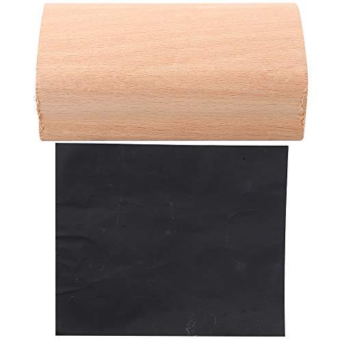 Bloque de lijado de madera para guitarra. Bloque nivelador de trastes de guitarra con papel abrasivo, 30,5 cm