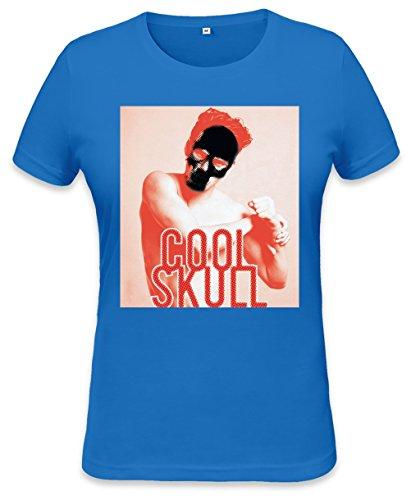 Cool Skull Design Womens T-shirt Small