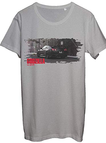 Nissan Godzilla GTR Men\'s Shirt JDM Legends Turbo Petrol Monsters T-Shirt