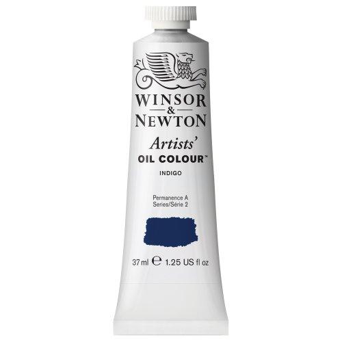 Winsor & Newton Artists' Oil Color Paint, 37-ml Tube, Indigo