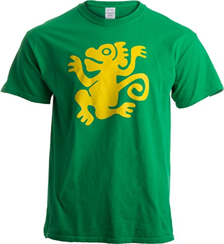 Legends of The Hidden Temple Tribute   90s Halloween Team Costume Unisex T-Shirt-L-Green