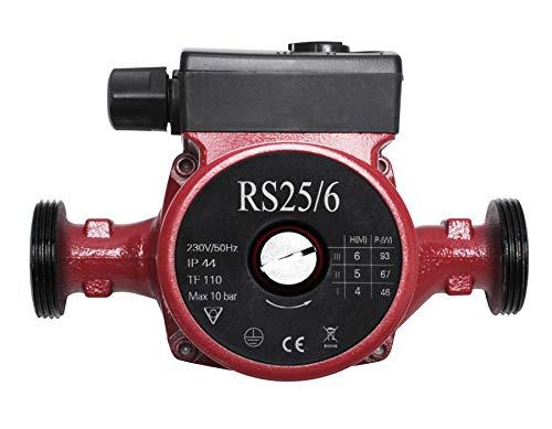RS25/6-180 Bomba de Circulación de Agua Caliente, Bomba de Circulación para Calefacción por Poweka