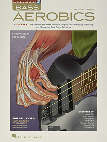 Compare Textbook Prices for Bass Aerobics GUITARE BASSE Pap/Com Edition ISBN 9781423495635 by Liebman, Jon