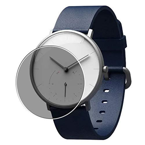 Vaxson Protector de Pantalla de Privacidad, compatible con Xiaomi Mijia SYB01 Smartwatch smart watch [no vidrio templado] TPU Película Protectora Anti Espía