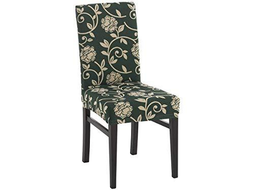belmarti Elastic Tasche Sessel Acapulco–Jacquard–2Stück–Farbe beige Stuhl mit Rückenlehne rot