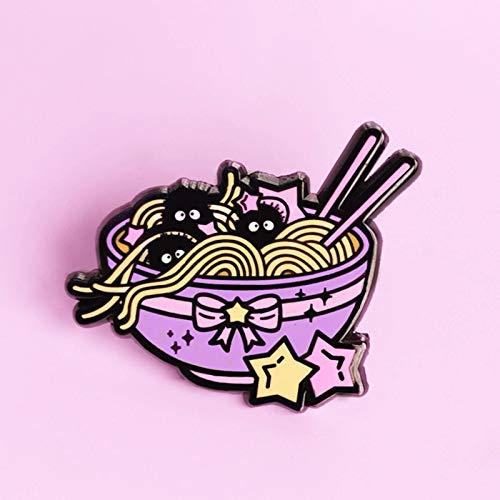 N-B Pin de Esmalte Duro Lindo Pin Aways Medalla Alfileres Gourmet de Moda para Mujeres y niñas