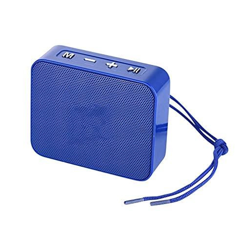 ZZNNN Altavoz Bluetooth portátil pequeño Altavoz inalámbrico Bluetooth 5.0 Compatible con Tarjeta USB TF Radio FM caixa de som Altavoces