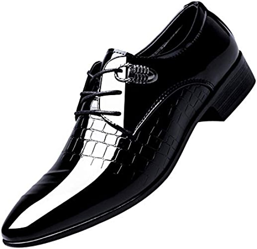 LOVDRAM Chaussures en Cuir pour Hommes Chaussures Pointues pour Hommes. Chaussures De Ville. Version Coréenne De La Cravate pour Jeune. Chaussures pour Hommes.