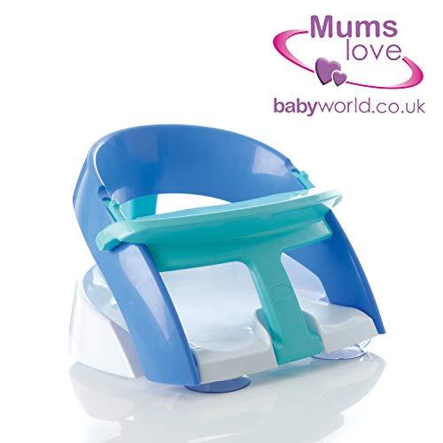 Dreambaby F660 Badesitz-Baby Sitzhilfe Badewannensitz Badesitz Babysitz, Premium blau