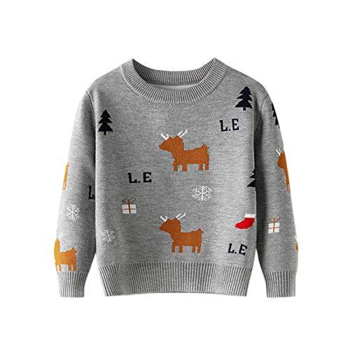 Kinder Weihnachten Jumper Sweatshirt Pulli Kids Mädchen Jungen Weihnacht...