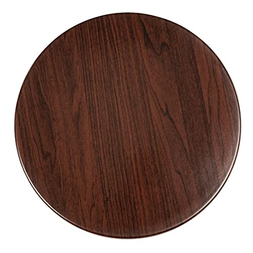 Bolero Round Table Top Dark Brown 800mm Wood Dining CafпїЅ Restaurant