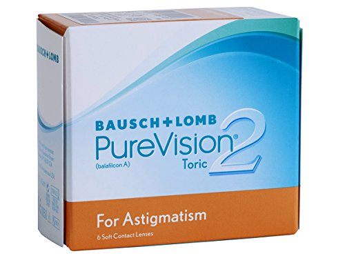 Bausch & Lomb PureVision 2HD for Astigmatism, 6 Stück / BC 8.9 mm / DIA 14.5 / +2.25 Dioptrien