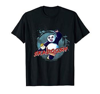 Kung Fu Panda Po Skadoosh Action Pose T-Shirt