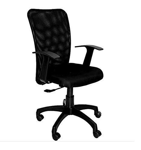 Vivan Interio Fabric Ergonomic Executive Chair (Black)