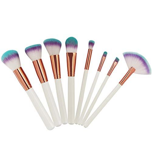 YaXDS Prima de Maquillaje sintético Cepillo de Cejas Liner Herramienta del cosmético del Cepillo del lápiz por la Fundación, Polvo, Correctores, Blush, y Brocha Set de brochas de Maquillaje