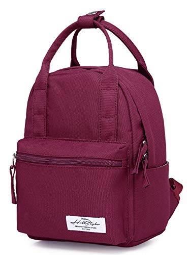 HotStyle 8811s Extra Mini Backpack Purse Cute for Women, Maroon