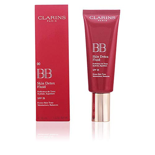 Clarins BB Skin Detox Feuchtigkeit spendendes Makeup Fluid SPF 25, 02 Medium, 45 ml