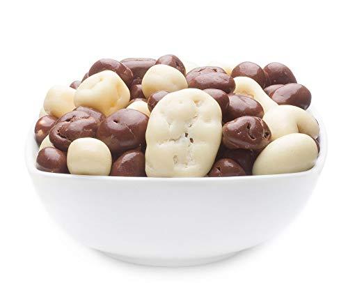 1 x 700g Joghurt Schokolade Vollmilchschokolade Mischung mit Erdnuss Rosine Cashew Ananas Banane...