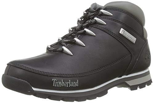 Timberland Euro Sprint Hiker, Bottes Chukka Homme, Noir (Black Smooth), 47.5 EU