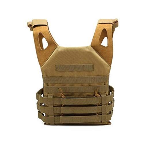 HYYBX-99 Tactical Vest Tactical Vest Outdoor Combat Training Vest verstelbaar voor volwassenen 600D gecodeerd Oxford doek - Ademend Mesh Surface Design - MOLLE System Outdoor