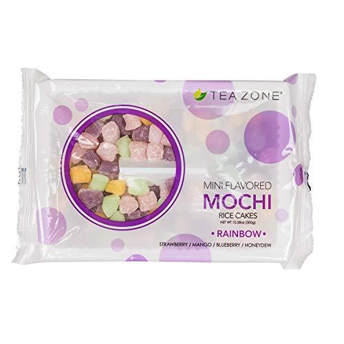 Tea Zone 10.6 oz Rainbow Mini Mochi Bag from Lollicup USA, Inc.