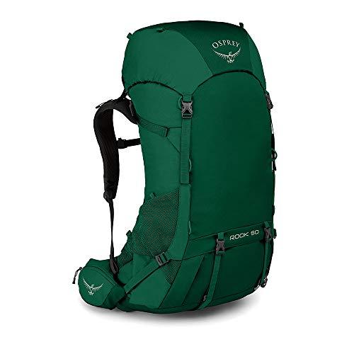 Osprey Rook 50 Men's Backpacking Backpack, Mallard Green