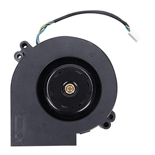 Duokon Turbo-ventilator, centrifugale dubbele kogel, 190 CFM, kunststof, hoge koeling wind, volume, luchtventilator voor industriële verwarmingsinstallaties, picknick camping grill 12 V 3,8 A