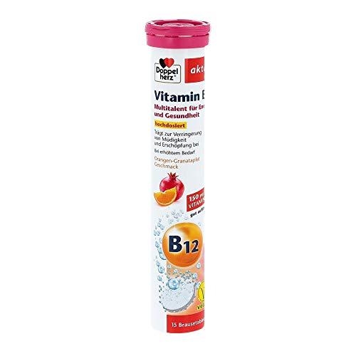 Doppelherz Vitamin B12 Brausetabletten 15er
