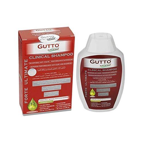 Gutto - Shampoing Anti Chute aux Actifs Naturels et Bio - Renforce les Cheveux et Prévient la Chute