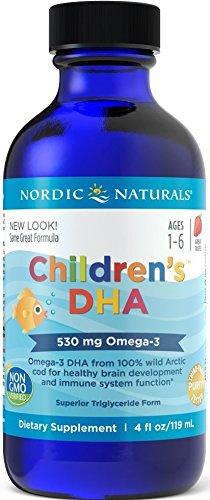 Nordic Naturals Children'S Dha, 530Mg Fresa - 119 Ml. 1 Unidad 220 g