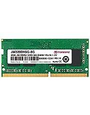 Transcend ノートPC用メモリ PC4-25600(DDR4-3200) 8GB 1.2V 260pin SO-DIMM 1Rx16 (1Gx16) CL22 無期限保証 JM3200HSG-8G