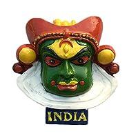 インド冷蔵庫用マグネットステッカー3D手作り樹脂旅行ギフトお土産コレクションデコレーション