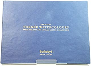 Important Turner Watercolours from the Guy and Myriam Ullens Collection: Wednesday 4th July 2007