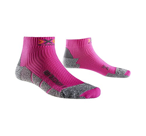 X-SOCKS Run Speed 2 - Chaussettes de Running femme,Rose-37-38