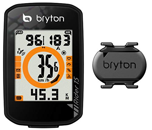 Bryton GPS Rider 15 C CICLOCOMPUTADOR, Negro, Talla única