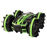 Weaston 360 ° Rotating Drift Drift Stunt Car 2.4g Charging RC Voiture 4wd Bigfoot Monster Off-Road RC Véhicule Amphibie Multifonctionnel RC Buggy Jouets pour Enfants Cadeaux