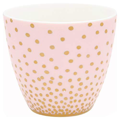 GreenGate - Tasse, Becher, Kaffeebecher - Keramik - rosa/Gold - 300 ml