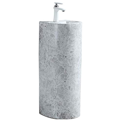 XCJJ Serie de lavabo de cerámica - Lavabo moderno de imitación de...