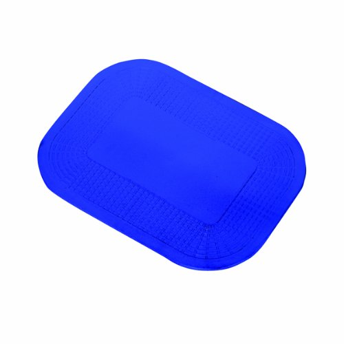 """Dycem - 50-1591B Non-Slip Mat, Ideal Daily Living Aid for Independent Living and Caregivers, Designed to Address Stabilization and Gripping Problems Found Around The Home, Blue Textured Pad 10"""" x 14"""" x 1/8"""""""
