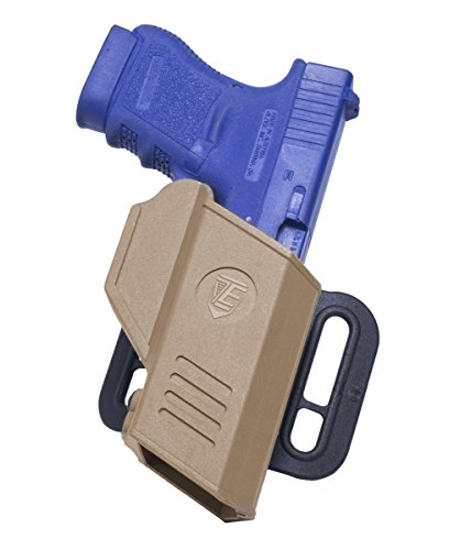 Review Elite Survival Systems CR Secure Auto-Locking Retention Holster Sig Sauer 226 Low Ride Belt H...