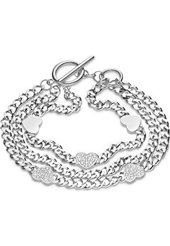 Guido Maria Kretschmer by CHRIST GMK Collection Damen-Armband Edelstahl One Size Silber 32012877