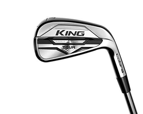 Product Image 1: Cobra Golf 2021 King Mim Tour Iron Set Chrome (Men's Right Hand, KBS $ Taper 120, Stiff Flex, 4-PW)