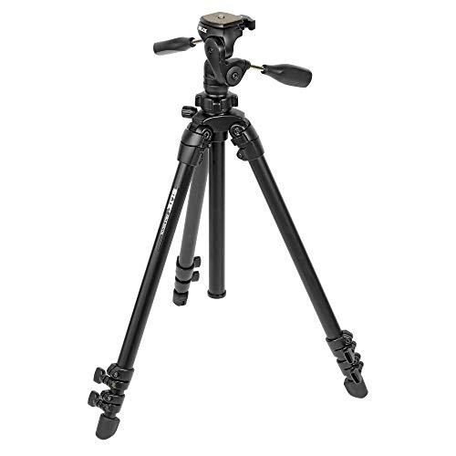 Slik Able 300DX - Trípode Completo, Color Negro