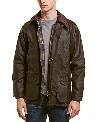 Barbour Classic Bedale Wax Jacket - Men's Olive, 38
