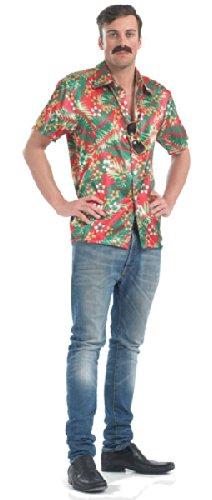 Camisa hawaiana - disfraces para adultos: Amazon.es: Juguetes y juegos