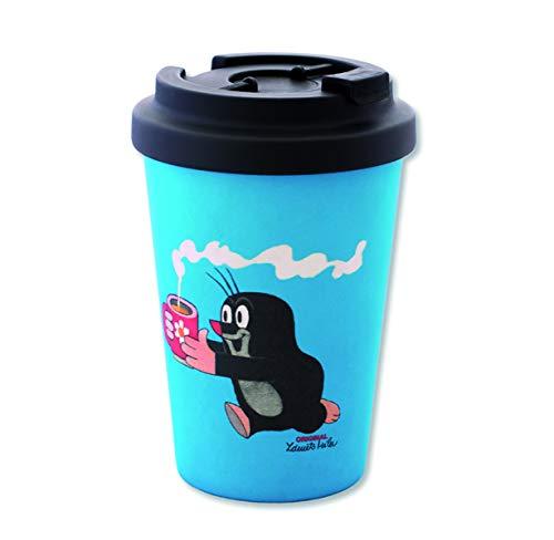 Logoshirt - Der kleine Maulwurf - Kaffee - Coffee-to-Go-Becher - Bambus - 450 ml - Lizenziertes Originaldesign