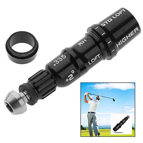 Xrten Golf Shaft Adapter,Durable Aluminiumlegierung Golf Adapter Sleeve für Taylormade Driver(0.335)