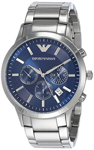 Emporio Armani Men's AR2448 Dress Silver Watch