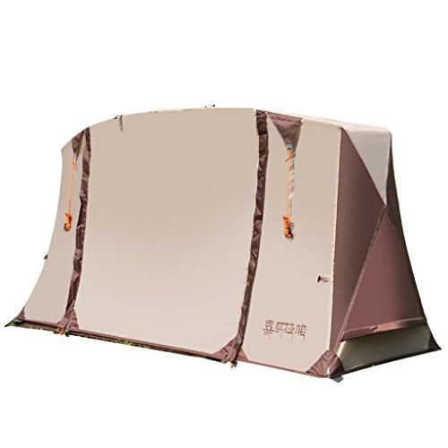Zxr-Outdoor tent Roscloud Carpa Individual al Aire Libre Doble Capa Impermeable Four Seasons Fishing Tents Indoor