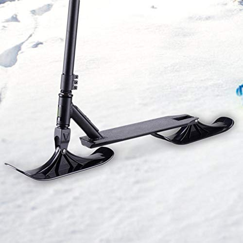 SH-Flying Snowblades Snow-Scooter-Ski Snow-Ski-Schlitten-Set Winter-Ski-Schlitten-Zubehör Dual-Use-Snow-Scooter für Kinder Teile Für Laufräder Zubehör Expedient Practical